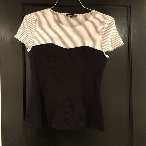 Express Tops - Slimming professional ribbed top